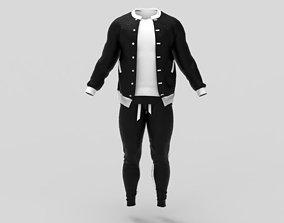 3D asset Casual Sweat Suit - Marvelous Designer - Project