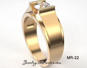 Man Ring MR-22 3D print model