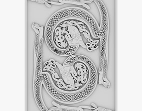 3D Celtic Ornament 18
