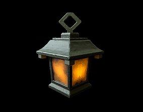 lantern 3D asset realtime lamp