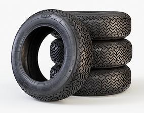 3D model Classic Car Tyre Pirelli CN36