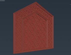 Back Wood Panel 3D