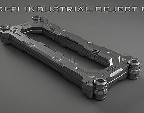 3D Sci-Fi Industrial Object 01