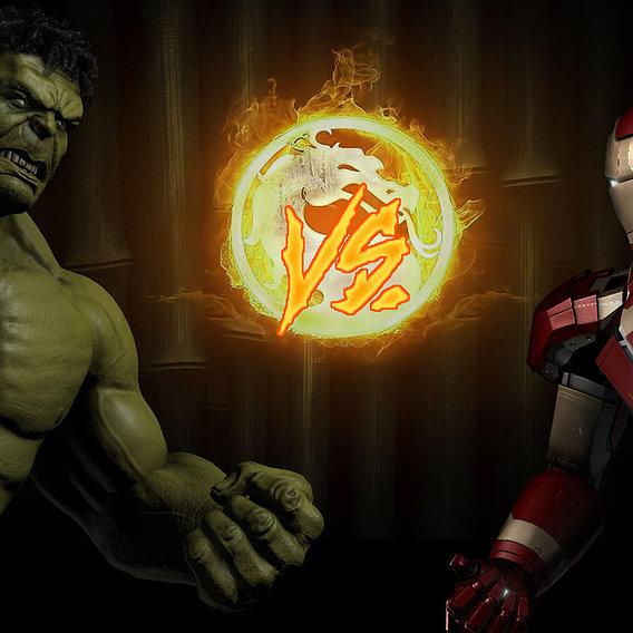 Avengers the Kombat X version