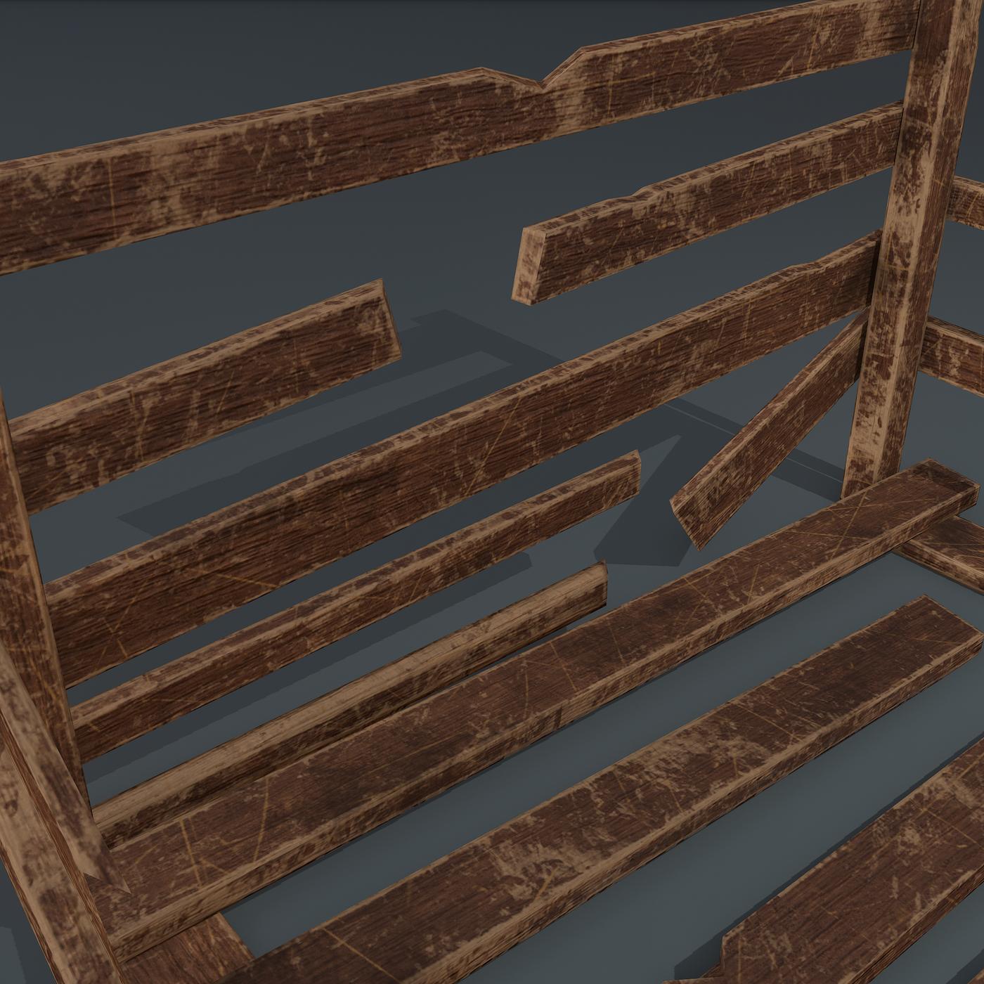 Wood arrangement