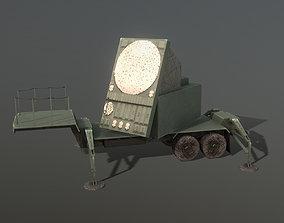 3D model MIM-104 Patriot AN-MSQ-53 Radar