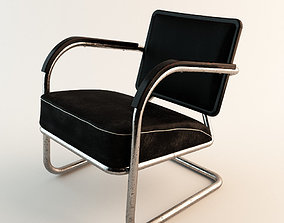 Arm Chair 60s Style 3D