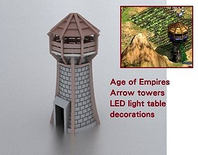 Age of Empires Arrow towers 3D printable model