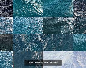 Ocean High Poly Pack 3D