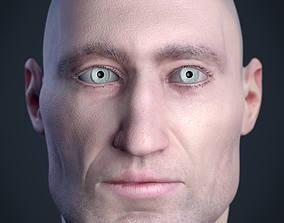 Cranial facial reconstruction - European 3D print model 3
