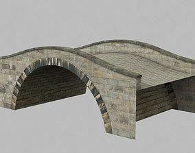 Canal bridge 2 3D asset