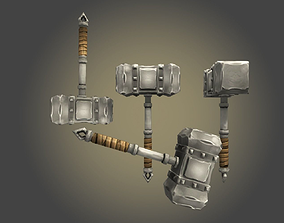 3D asset Hammer I
