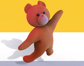 Teddy 3D model rigged