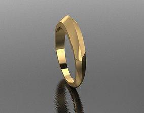 3D printable model Knife Edge Sword Modern Ring Size 7