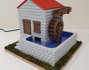 3D print model Old Watermill