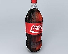 Coke Realistic Plastic Bottle 3D