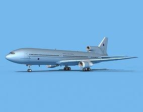 Lockheed L-1011 Royal Air Force 2 3D model