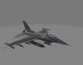 3D fighter-jet