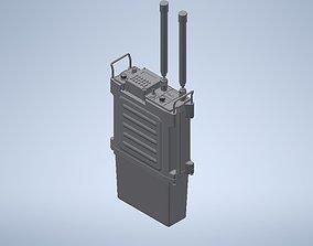 3D print model electronics PRC 117F military radio