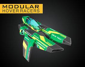 Modular Hover Racers 3D model