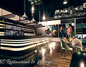 3D asset MC Restaurant and Lounge