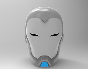 Superior Iron Man Helmet for 3D Printing