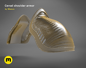 3D printable model Cersei shoulder- GAME OF THRONES