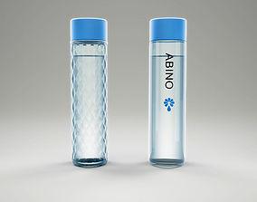 Bottles water 3D model
