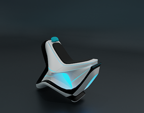 Electronic chair 3D model