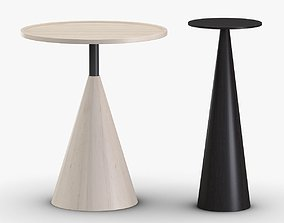 3D Sawkille - Cone side table and Cone stand
