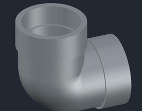 3D printable model Elbow pipe