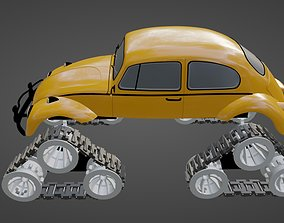Monster Tank Track DIY Kit for RC Cars and 3D print model
