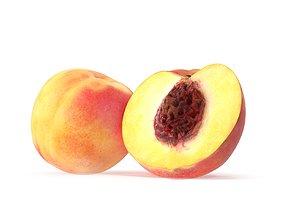3D Peach peaches