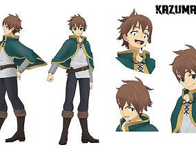 Kazuma Sato 3D