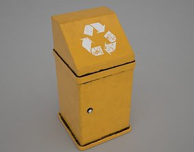 Garbage Can 3D