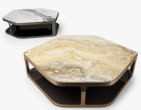 Longhi Tiles Hexagonal Coffee Table 3D model