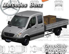 Mercedes-Benz Sprinter Dropside 3D model