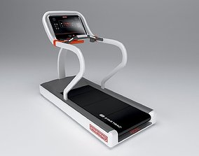 Star trac treadmill low poly 3D asset