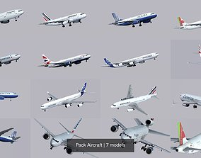 3D model Pack Aircraft