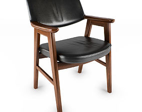 Danish Desk Chair 3D model