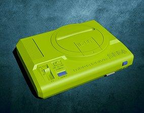 3D print model Mega Drive Raspberry Pi 3