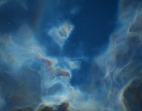 Space Skybox Backgrounds 3D model