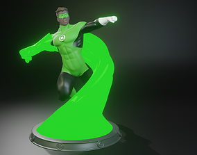 Hal Green Lantern 3D Printing Figurine