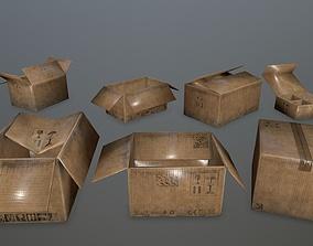 3D asset box set