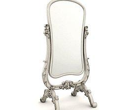3D model Mirror Gilded Antique