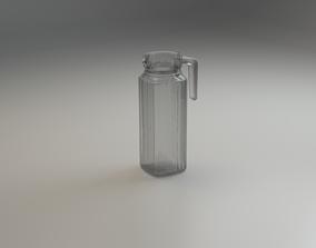 Carafe 3D model low-poly