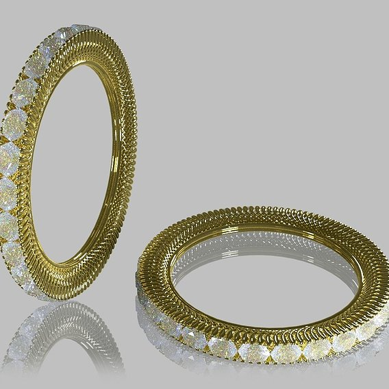 Crimp Ring 3D print model