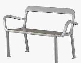 TF Urban 21s Bench 3D model