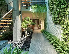 CT Garden indoor 3D model