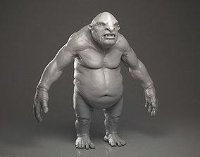 3D Ogre - Highpoly Sculpture